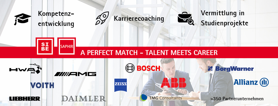 Kooperationspartner der Steinbeis School of International Business SIBE Unternehmen Logos